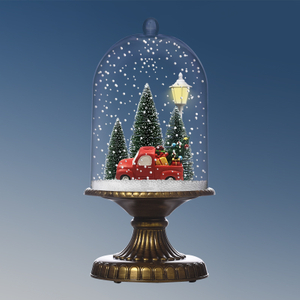 (G17CR-C) Smart Light Led Lamps with snowing and music for Boy Presents Idea