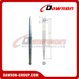 DSb08 N76×1200 Earth Auger N Ground Pile Series