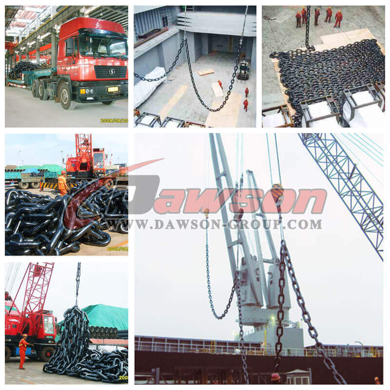 Connecting Link, Joining Shackle for Mooring Anchor Chain - China Manufacturer Supplier