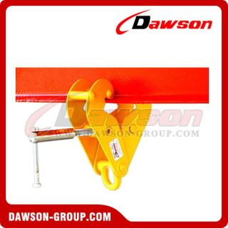 DS-YS Type Beam Trolley Clamp with Shackle