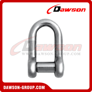 Oval Sunk Pin Dee Shackle