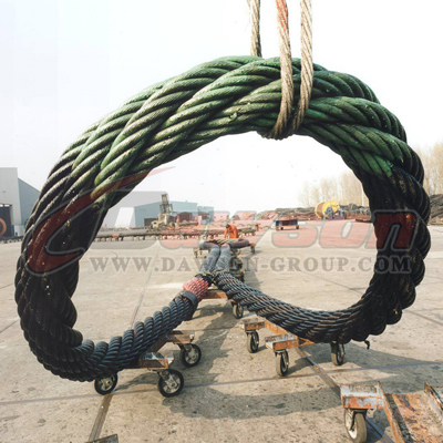 Dawson Steel Wire Rope Sling Factory - Lifting Slings, Lifting Gear ...