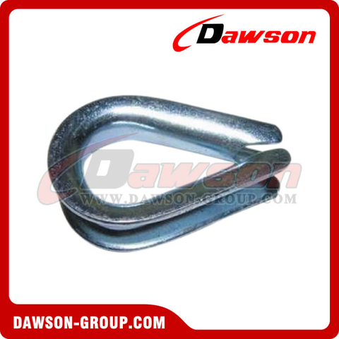 Galvanized Wire Rope Thimble DIN 6899 Type B