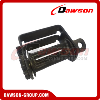 Double L Sliding Winch - Three Bars - Flatbed Truck Winches for Cargo Lashing Straps