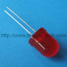 10mm round red LED lamp