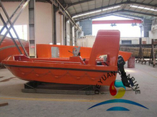 9 Persons Marine Offshore GRP Inflatable Fast Rescue Boat With Motor