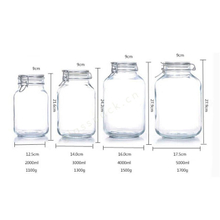 Glass Airtight Container