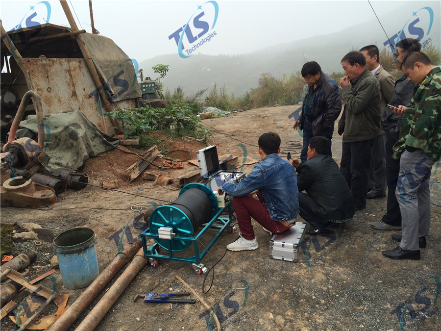 TLS Technologies Borehole Inspection Camera Application Case-Pingding Yangquan logging field-02