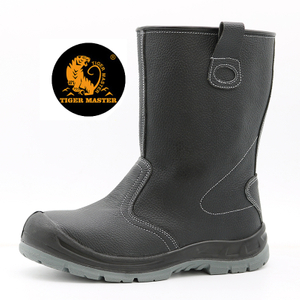 Oil Water Resistant Steel Toe Anti Puncture High Rigger Boots S3 SRC