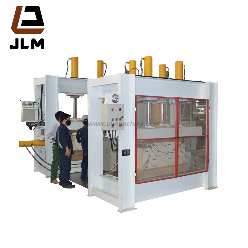 Wood Bending Press Plywood Machinery With High Frequency 120Ton
