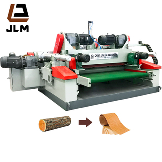 No Chuck Veneer Peeling Machine for Rubber Eucalyptus Hardwood