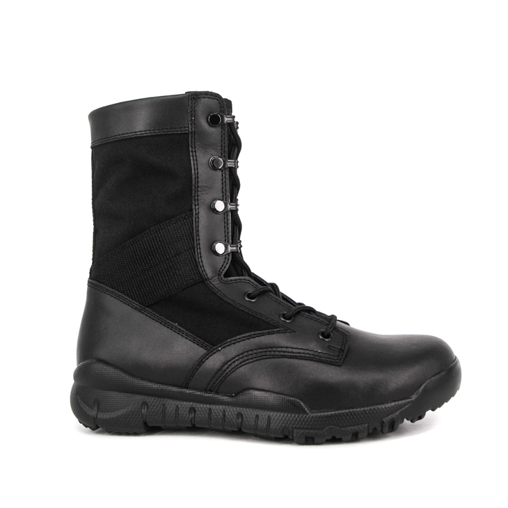 Military black outdoor jungle boots 5221