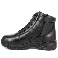 Wholesale zip black men army military combat boots 6122