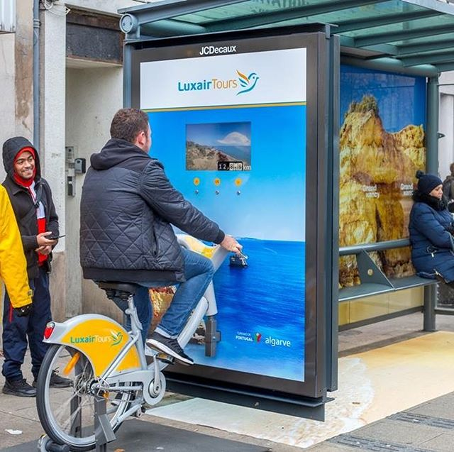 Enjoy the scenic views while biking in Nancy and Luxembourg Airport