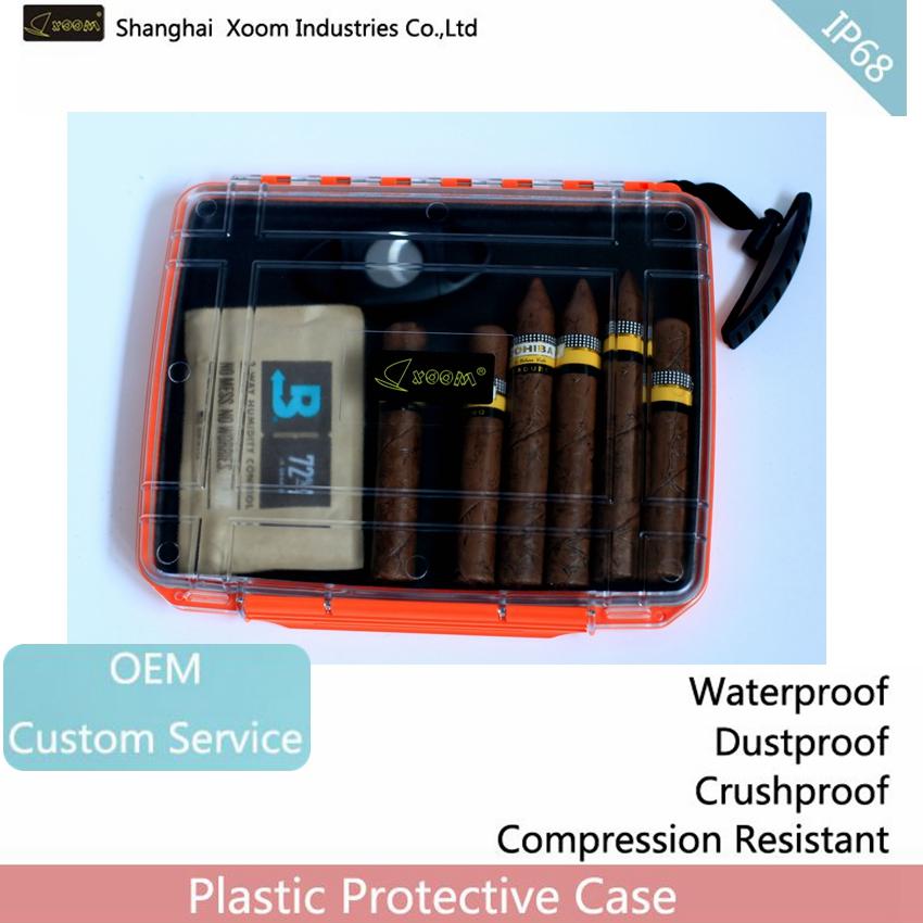 Waterproof Humidors Outdoor Plastic Water Cigar Storage Case