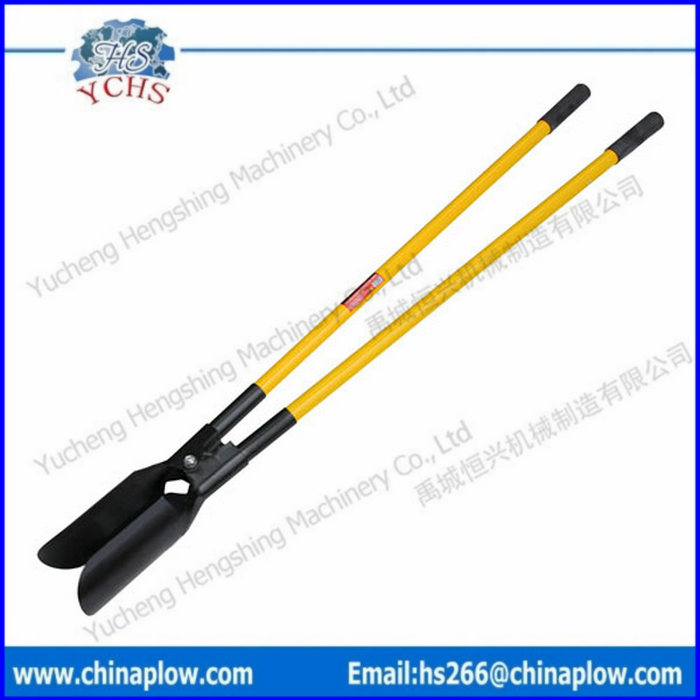 Hand post hole digger