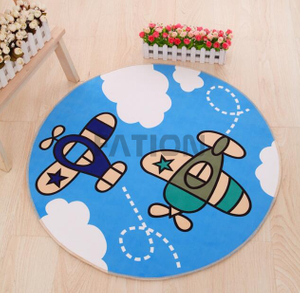 Fashion Cute Design Kids Mat Print Mat