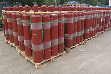 40L Seamless Acetylene Cylinder