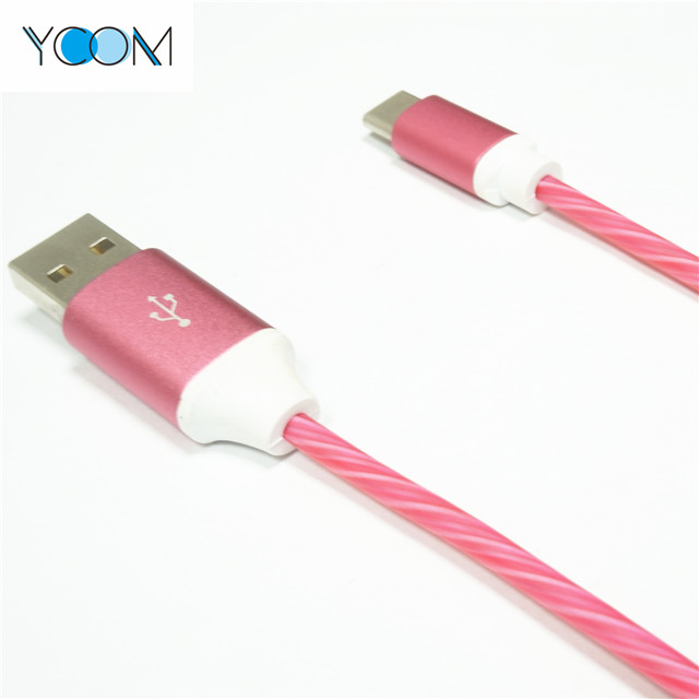 LED USB Cable Flash Light for Type C
