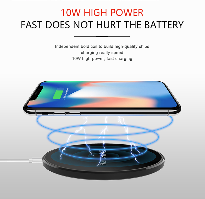 Lighting Wireless Charger for Samsung / for iPhone