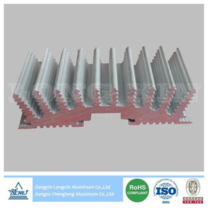Mill Finish Aluminium Profile for Heatsink