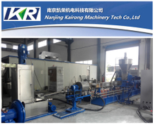 Underwater Co-Rotating Twin Screw Pellet Plastic Recycling Machine