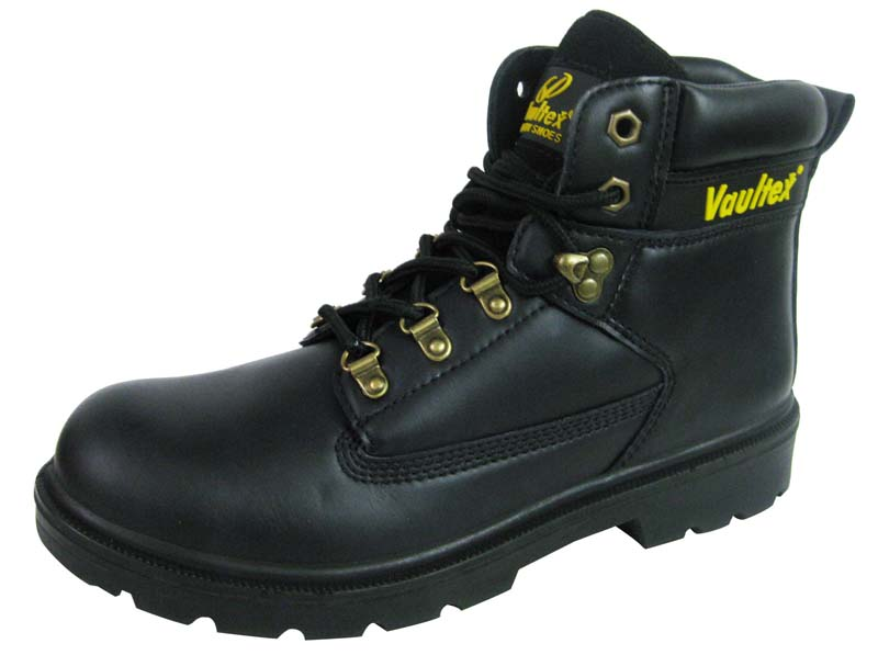 PU injection similar as goodyear welted genuine leather safety boot
