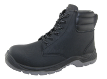 Good quality microfiber leather PU TPU sole safety boots