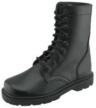 SL99081 correct leather goodyear welted military army boots