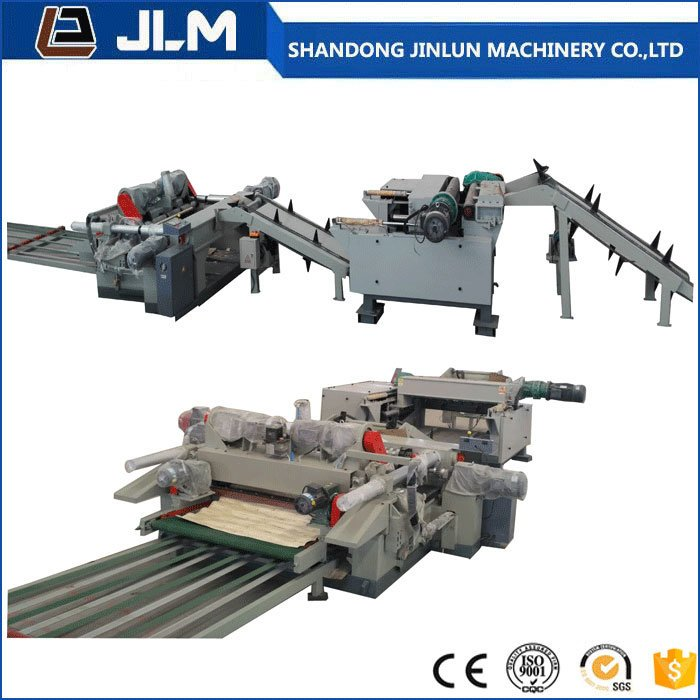 Plywood Veneer Rotary Peeler Machine