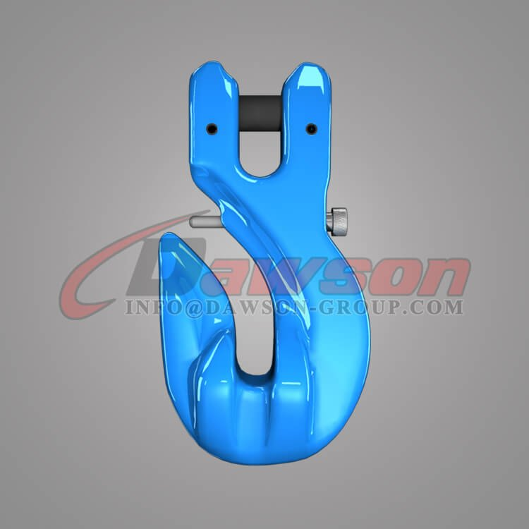 Grade 100 Special Clevis Grab Hook with Safety Pin, G100 Alloy Steel Clevis Grab Hook for Chains - China Factory, Supplier - Dawson Group Ltd.