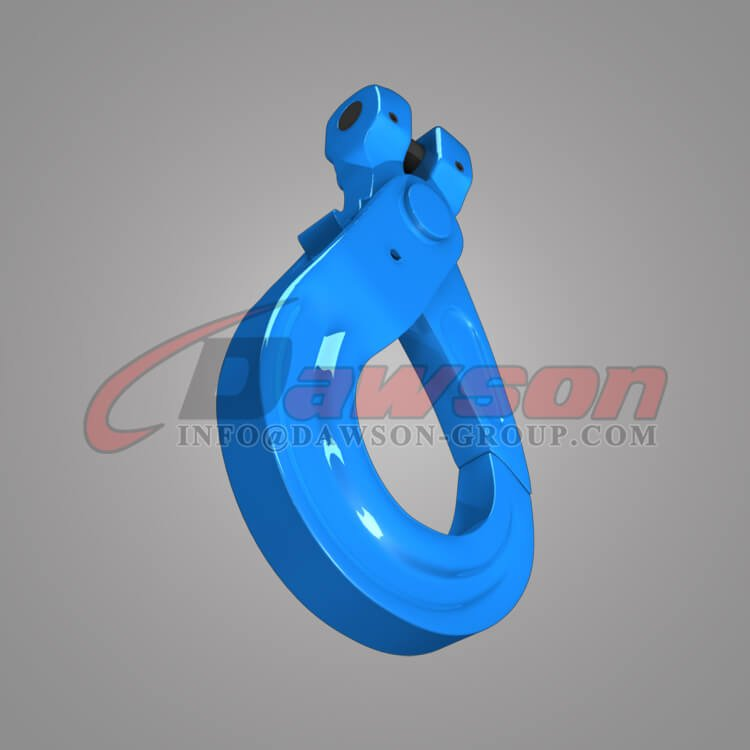 Grade 100 European Type Clevis Self-Locking Hook - Dawson Group Ltd. - China Factory, Manufacturer