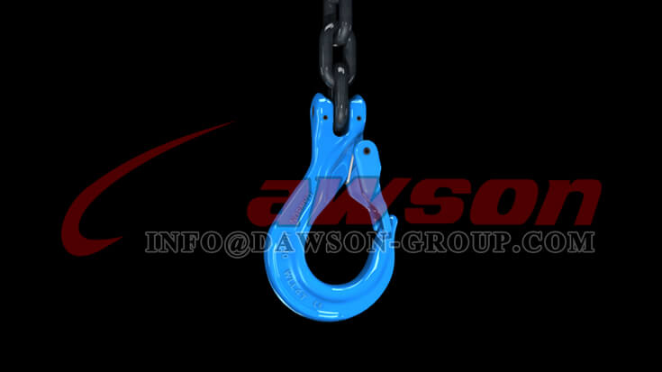 Application of Grade 100 Clevis Sling Hook with Cast Latch - Dawson Group - China Supplier, Factory