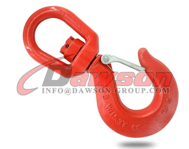 Grade 80 Swivel Hook with Latch for Crane Lifting Chain Slings - Dawson Group Ltd. - China Supplier, Factory