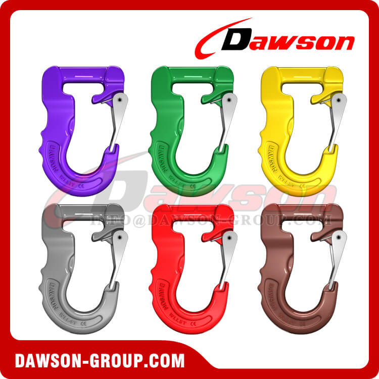 Grade 100 Web Sling Hook, G100 Synthetic Alloy Round Sling Hook - Dawson Group Ltd. - China Manufacturer
