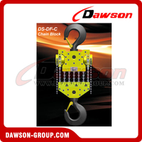 DS-DF-C 50T, 60T New Design Chain Hoist, Chain Block for Wharf