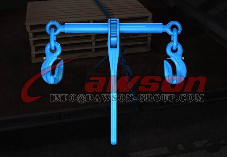 Application of G100 Ratchet Type Load Binder with Safety Hooks - Dawson Group Ltd. - China Supplier