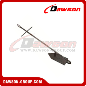 Hot Dipped Galvanized Single Fluke Anchor / H.D.G. Single Claw Anchor for Boat