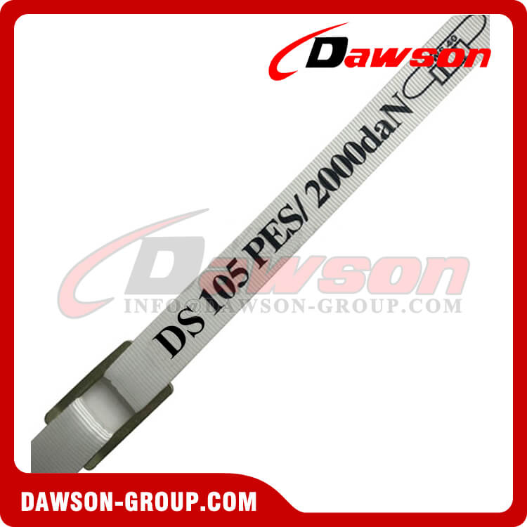 38mm Polyester Woven Cord Lash Strapping, One Way Cord Strap - Dawson Group Ltd. - China Supplier
