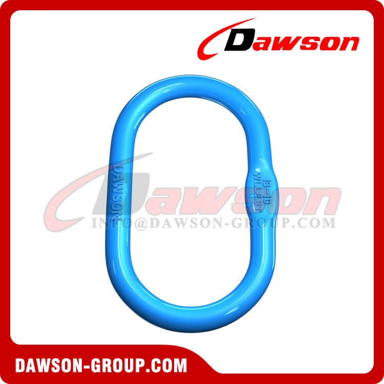 G100 Forged Master Link, Grade 100 Alloy Steel Master Link for Wire Rope Slings - Dawson Group Ltd. - China Factory