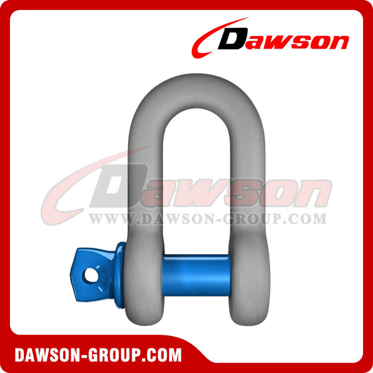 Hot Dip Galvanized US Type Chain Shackle with Screw Pin - China Supplier, Factory
