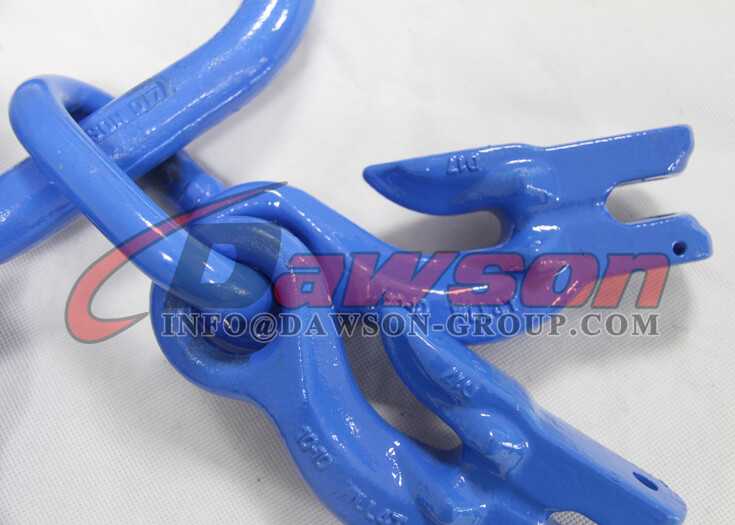 G100 Master Link Assembly with 4 G100 Eye Grab Hook with Clevis Attachment for Adjust Chain Length - China Supplier Dawson