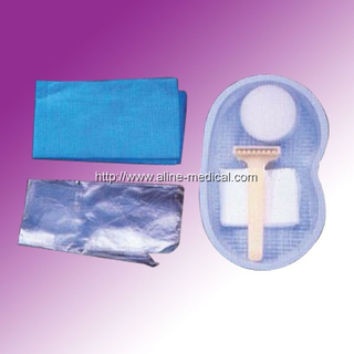 Dispoable Surgical Razor Kit