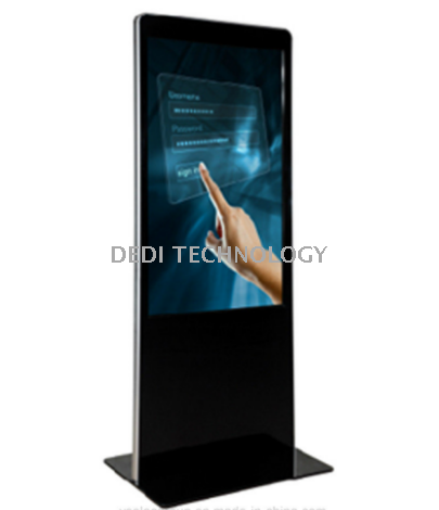 55.inch Floor Standing Dh Touch Screen LCD Display Advertising