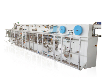 Full-Servo Control Easy Open Bag Panty Liner Production Line