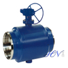 Fully Welded Body Side Entry Trunnion Mounted Gas Ball Valve