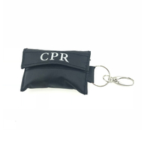 FDA wholesale free breathing barrier face shield CPR life keychain