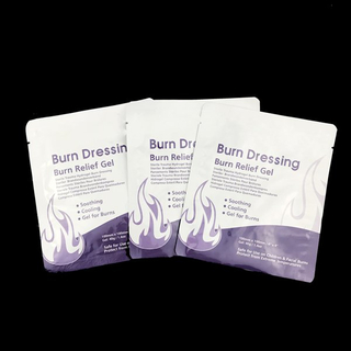antimicrobial sterile first aid friction burn dressing