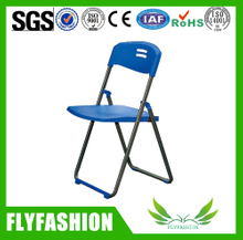 Durable plastic folding chair with metal frame (STC-14)