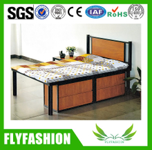 wooden flat single bed bedroom furniture (BD-08)